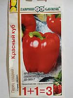 Семена Перец сладкий  Красный куб 0,4 грамма Гавриш, фото 1