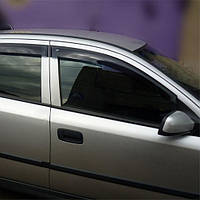 COBRA TUNING Дефлекторы окон на Opel Astra G '98-04 седан (накладные)
