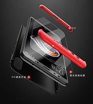 Матовый чехол GKK Slim Armor для телефона Xiaomi Mix 2S (Черный), фото 2