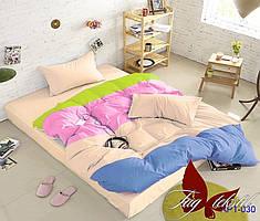 1.5-спальный комплект постельного белья ТМ TAG Color mix APT030