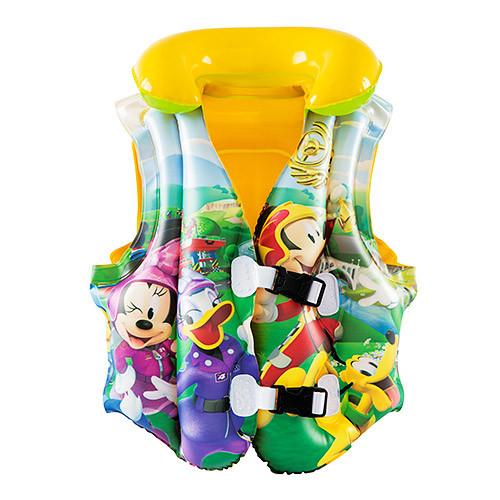 Детский надувной жилет (91030) Клуб Микки Мауса