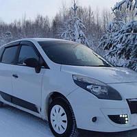 COBRA TUNING Дефлекторы окон на Renault Scenic III '09-16 (накладные)