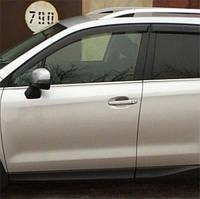 COBRA TUNING Дефлекторы окон на Subaru Forester (SJ) IV '12- (накладные)