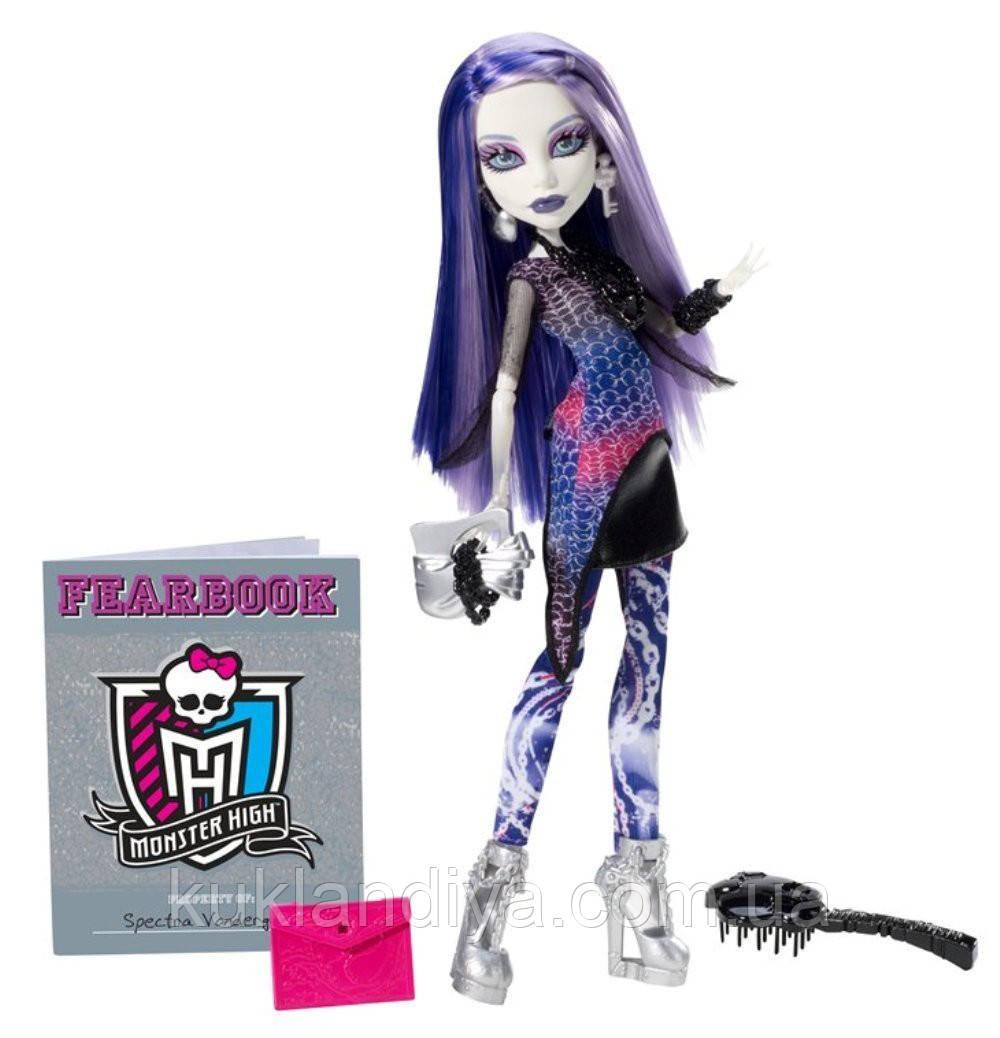 Кукла Monster High Спектра День фотографии - Picture Day Spectra Vondergeist