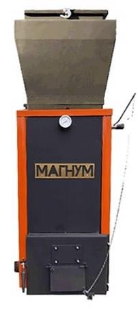 Котел МАГНУМ Стандарт с бункером 12 кВт / Котел Холмова / Шахтный котел Холмова, фото 2