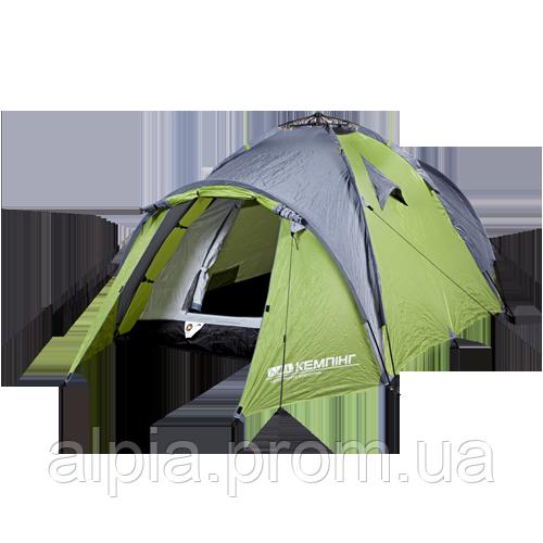 Палатка туристическая Кемпинг Transcend 3 easy click