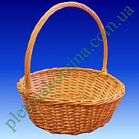 Плетеная Корзинка для подарков (круглая диаметр 38см) Арт.297