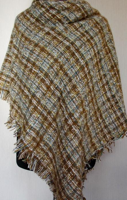 Женский шерстяной платок букле