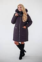 Зимняя женская куртка Лаура батал большого размера, фото 1