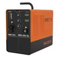 Полуавтоматический сварочный аппарат DWT MIG-200 DL