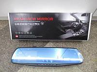 Зеркало заднего вида с видеорегистратором на 2 камеры 138W 4`