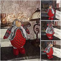 Роскошный олень с ЛЕД подсветкой, ручная работа, выс. 50 см., 1250 гр., фото 1