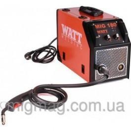 Полуавтоматический сварочный аппарат Watt Welding MIG-180