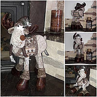 Скандинавский милый олень, ручная работа, выс. 40 см., 800/700 (цена за 1 шт. + 100 гр.), фото 1