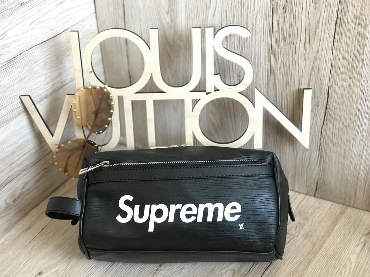 83a81df93248 Мужская барсетка в стиле Louis Vuitton LV Supreme black: продажа ...