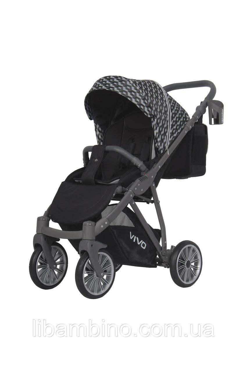 Дитяча універсальна прогулянкова коляска Expander Vivo 01 Carbon