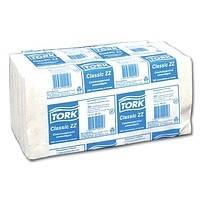 Полотенца бумажные сложения ZZ Tork Universal, белые, 250 шт., 1 слой 120108