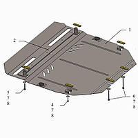Kolchuga Защита двигателя и КПП на Honda CR-V IV '15-16 (V-2,0i) Standart