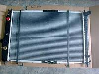 Радиатор охлаждения двигателя Шевролет Авео АКПП 600x415.5x16 GM бу