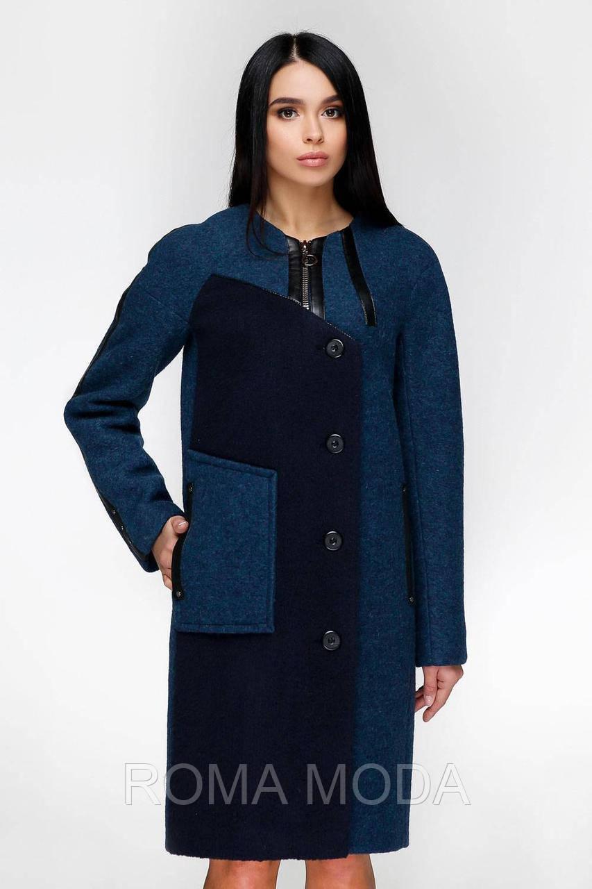 Женское демисезонное пальто В-1154 Cost 44-62 размеры