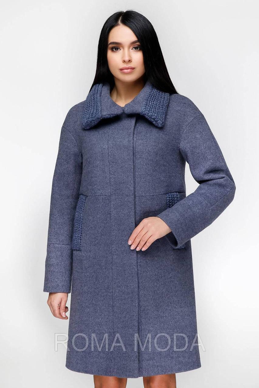 Зимнее женское пальто в 7ми цветах П-1140 Шерсть пальтовая