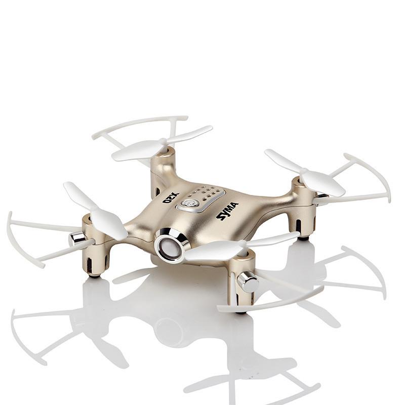 Квадрокоптер Сима X20 Золото мини Drone Syma X20 POCKET Golden Mini