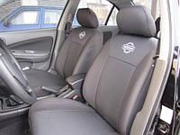 KSUSTYLE Чехлы в салон модельные для NISSAN Almera Classic B10 '06- спинка заднего сиденья с подголовниками