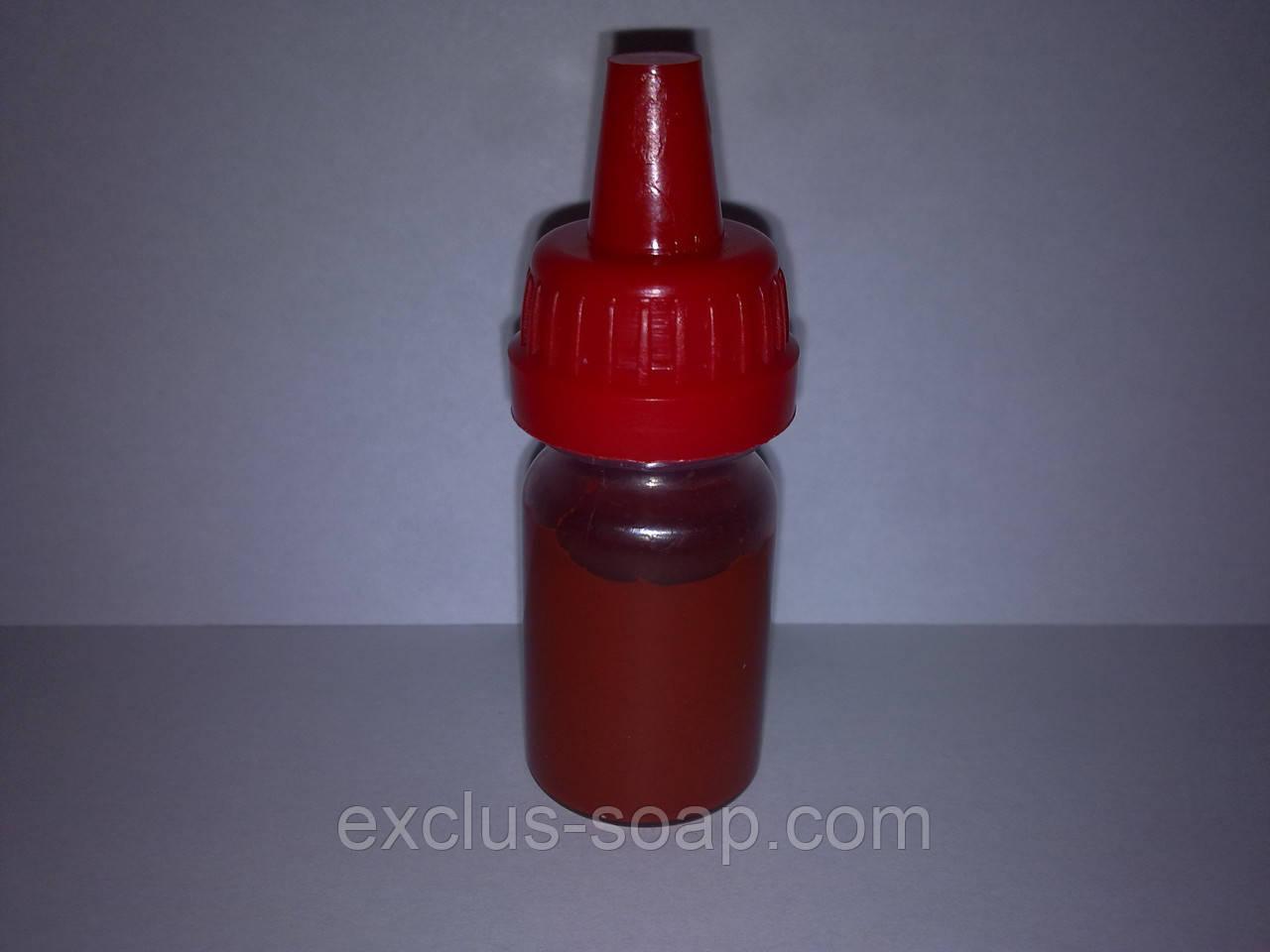 Пигмент жидкий красный-10 мл