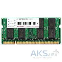 Оперативная память для ноутбука Transcend DDR2 2GB 800  МГц (TS256MSQ64V8U/JM800QSU-2G)
