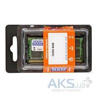 Оперативная память для ноутбука GooDRam SoDIMM DDR3 8GB 1600 MHz (GR1600S364L11/8G)