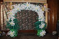 Свадебная арка из шаров. Николаев
