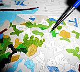 """Картина раскраска по номерам на холсте """"Тихая гавань"""", 40х50см (MG210, КН210), фото 7"""