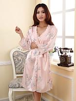 Комплект из сорочки и халата, фото 2