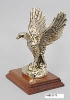 Элегантная статуэтка Орел на подставке - Модель 1479 - античная отделка бронзы