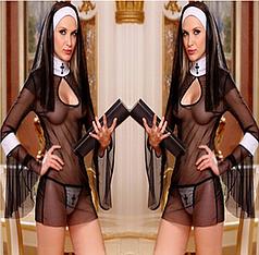 """Игровой костюм """"Монашка"""""""