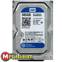 Накопитель HDD SATA 500GB WD Blue 7200rpm 32MB (WD5000AZLX)