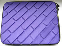 Качественный чехол планшет противоударный фиолетовый 26 x 21 x 2 см.  от 10-12 дюймов