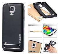 Чехол металлический Motomo Samsung E5 черный