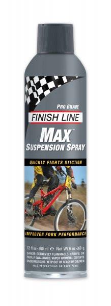 Жидкость для очистки вилок FINISH LINE Max — Suspension,спрей, объём 360 мл