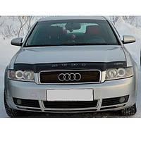 """VipTuning Audi A4 B6 '00-04 Дефлектор капота """"мухобойка"""""""