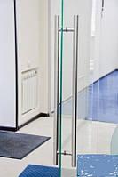 Вертикальные прямые ручки для пластиковых дверей из нержавейки