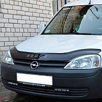 """VipTuning Opel Combo C '01-11 Дефлектор капота """"мухобойка"""""""