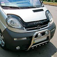 "VipTuning Opel Vivaro I '01- Дефлектор капота ""мухобойка"""