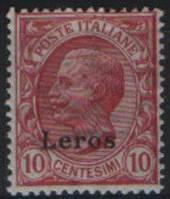 Leros - Эгейские острова - колонии Италии
