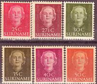 Голландский Суринам 1951