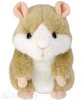 Говорящий хомяк Mimicry Pet Hamster разных цветов розовый , серый , коричневый