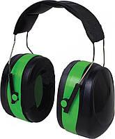 Наушники VITA с шумоподавлением 32dB зелёные усиленный мягкий наголовник (LN-0003)