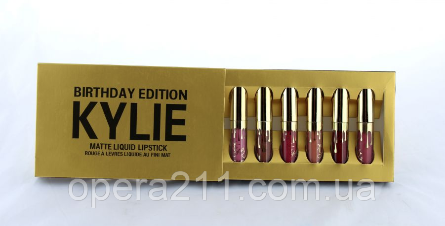 Набор помад Kylie Jenner Birthday Edition