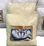 Одеяло двуспальное180х210 см хлопок лебяжий пух TM KRISPOL, фото 7