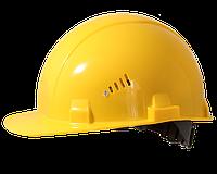 Каска строительная Украина (цвет жёлтый)(PK-0001)